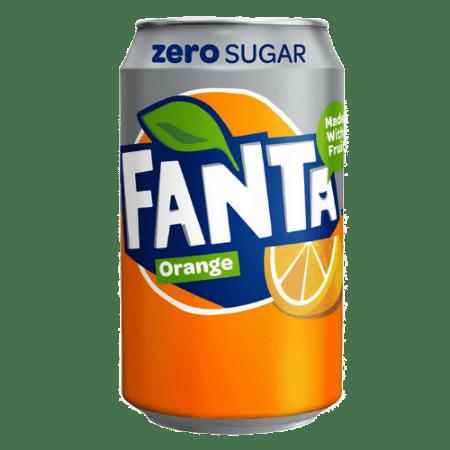 Напиток Fanta Zero, 0.33 л