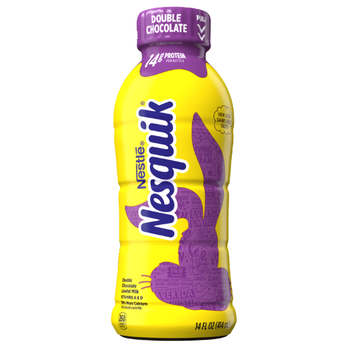 nesquik double chocolate lowfat milk
