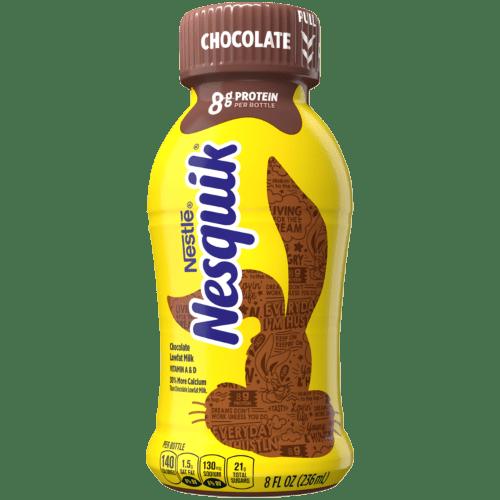nesquik shokolad i obezzhirennoe moloko 236 ml