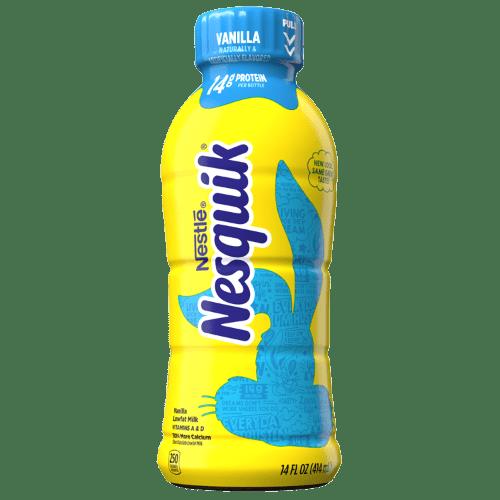 Nesquik Vanilla Lowfat Milk, ваниль и обезжиренное молоко, 414 мл