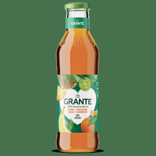 Grante Ананас Мандарин Банан Каламанси 0.75 л