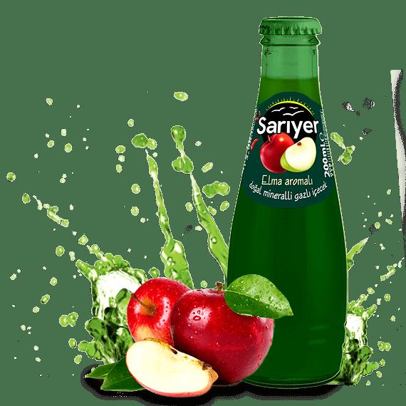 gazirovannyj napitok sariyer yabloko 0.2 l
