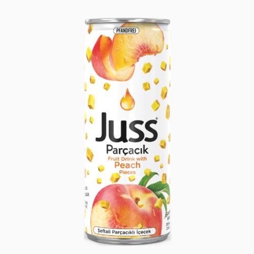 sok persika juss s kusochkami fruktov 0.33 l