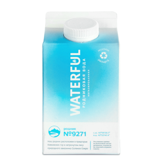 voda waterful negazirovannaja 0.5 l