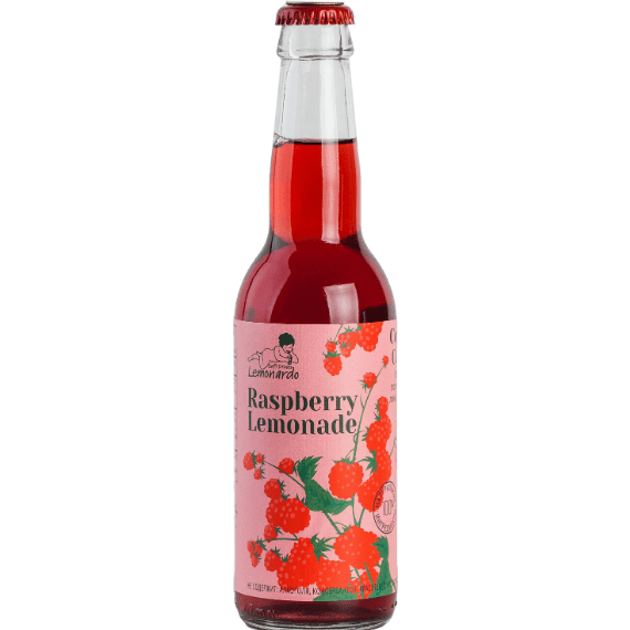 limonad lemonardo raspberry lemonade 0.33 l