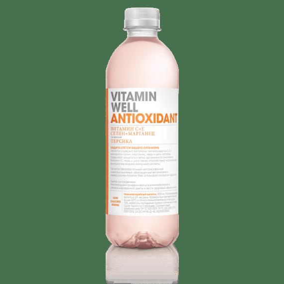 napitok vitamin well antioxidant 500 ml