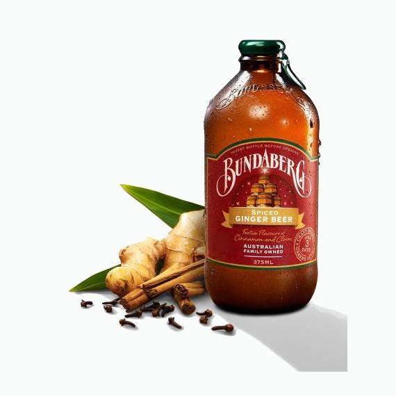 napitok bundaberg spiced ginger beer 0.375
