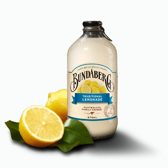 napitok bundaberg traditional lemonade 0.375