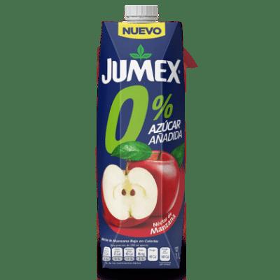 nektar jumex manzana cero yabloko bez sahara 1.0 l