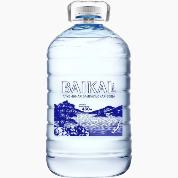 baikal water voda bez gaza 5 0 l