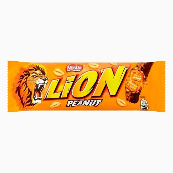 batonchik nestle lion s arahisom 42 g