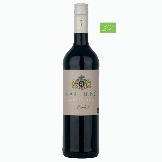 carl jung merlot bio bezalkogolnoe krasnoe vino 0.75 l. 1