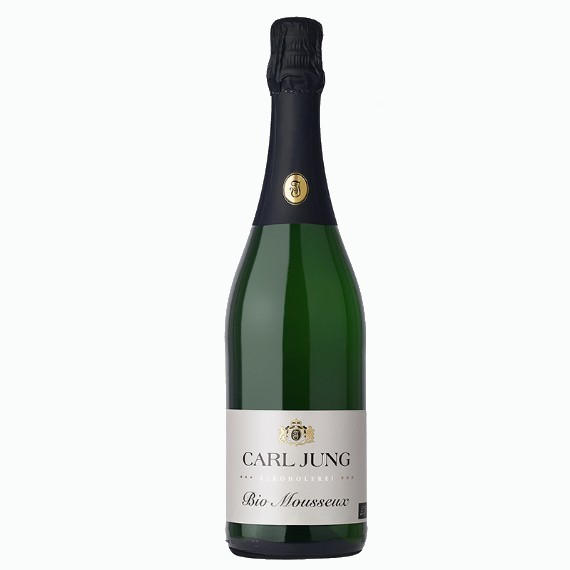 carl jung mousseux bio bezalkogolnoe igristoe beloe vino 0.75 l.