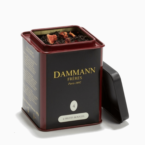 chaj dammann freres the 4 fruit rouges 100 g