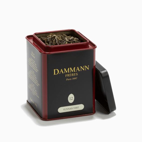 chaj dammann freres the vert yunnan 100 g