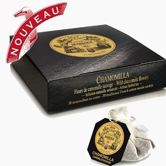 chaj paketirovannyj mariage fr res chamomilla 2 5 g 30 p