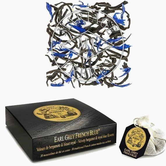 chaj paketirovannyj mariage fr res earl grey french blue 2 5 g 30 p