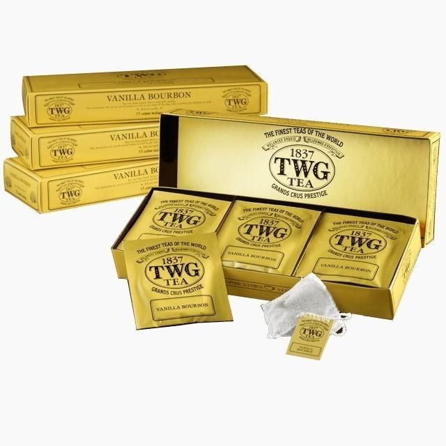 chaj paketirovannyj twg creme caramel tea 15 shtuk po 2 5 gr