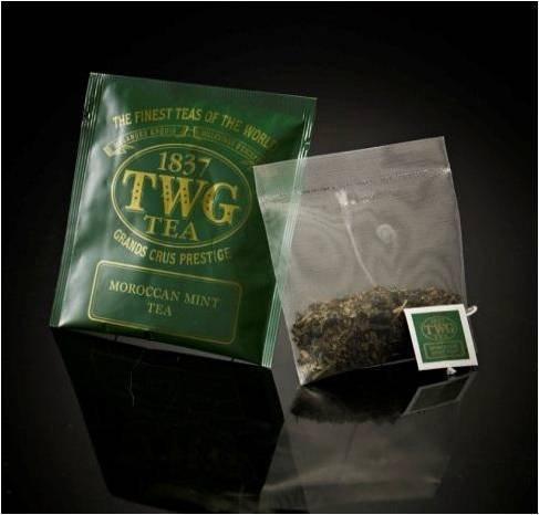 chaj paketirovannyj twg moroccan mint tea 100 p