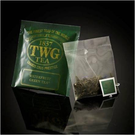 chaj paketirovannyj twg waterfruit green tea 100 p