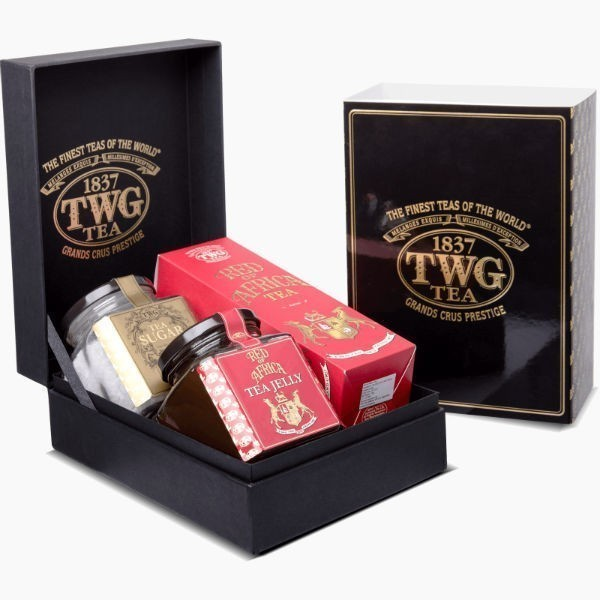 chaj twg haute couture red of africa tea gourmet gift set
