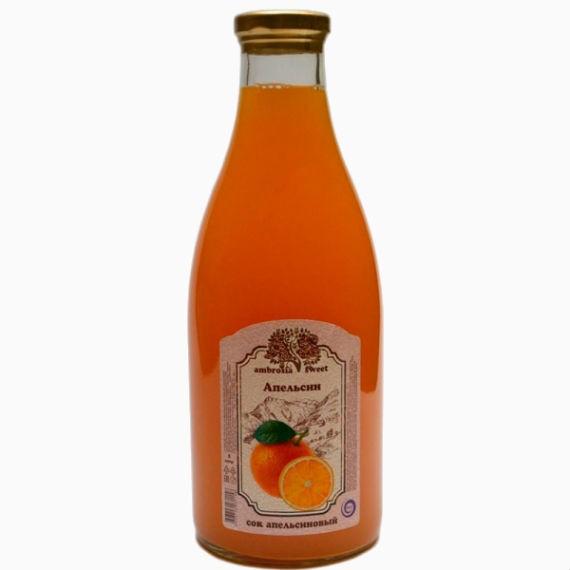 cok apelsinovyj ambrosia sweet 1l steklo