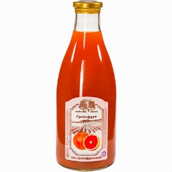 cok grejpfrutovyj ambrosia sweet 1l