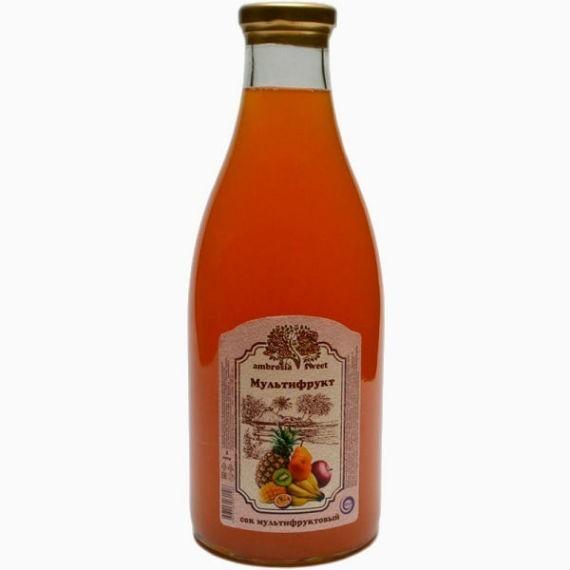 cok multifruktovyj ambrosia sweet 1l