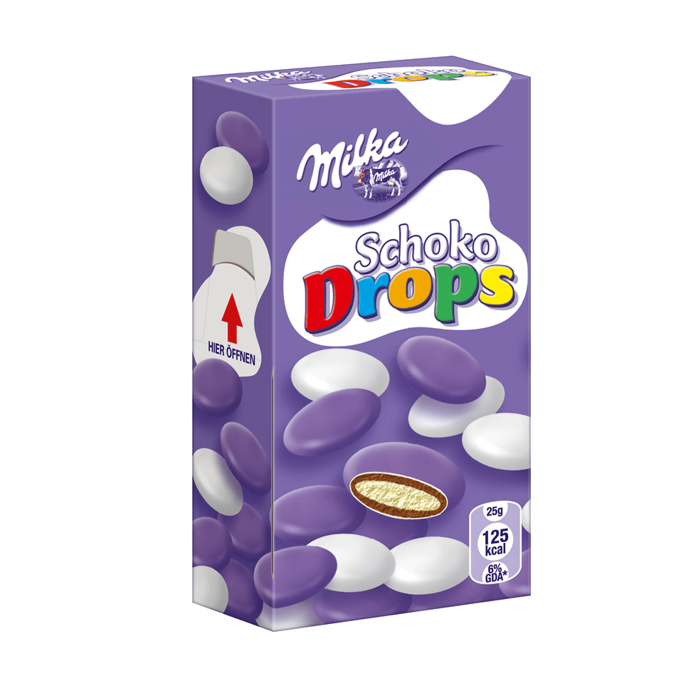 drazhe milka milkinis schoko drops 42 g