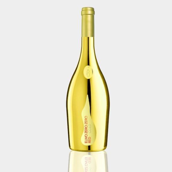 elivo zero zero gold red bezalkogolnoe krasnoe igristoe vino 0 75 l