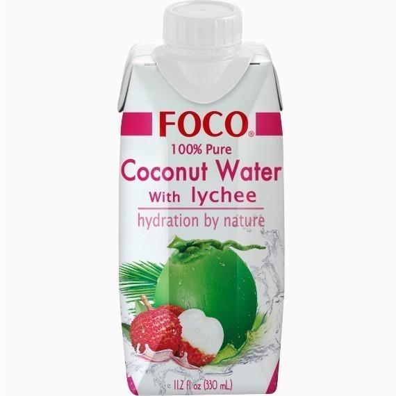 foco kokosovaja voda s sokom lichi 0 33 l