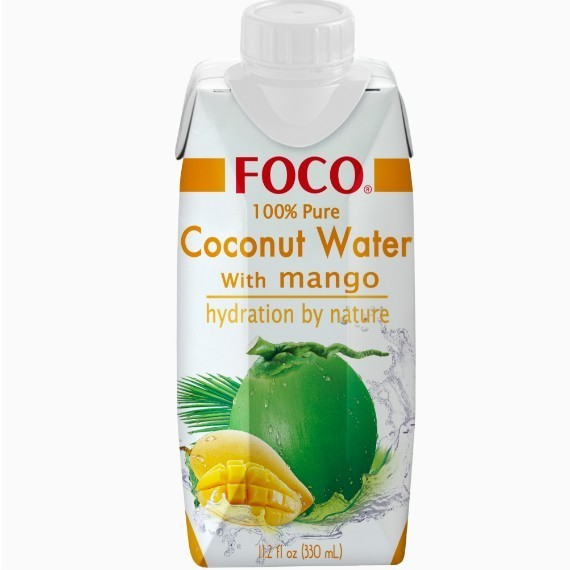foco kokosovaja voda s sokom mango 0 33 l