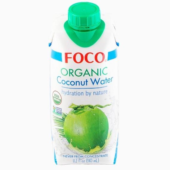foco organicheskaja kokosovaja voda 0 33 l