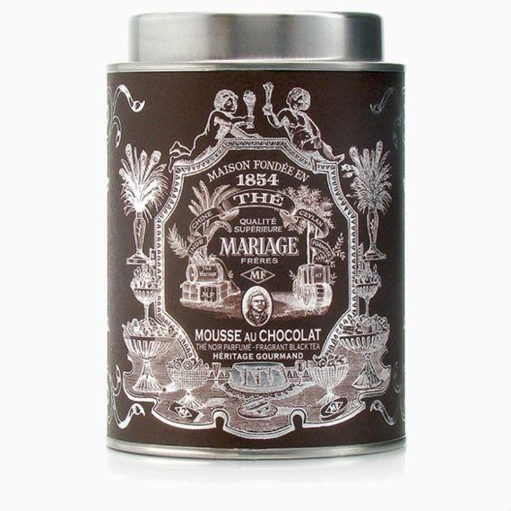 fruktovyj chaj mariage fr res th noir mousse au chocolat 100 g