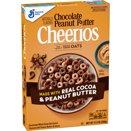 hlopja cheerios chocolate peanut butter 402 g