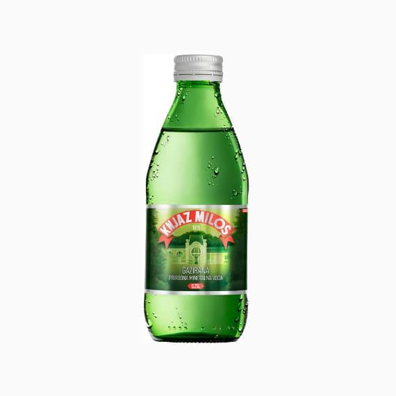 knjaz milos mineralnaja voda s gazom 0 25 l