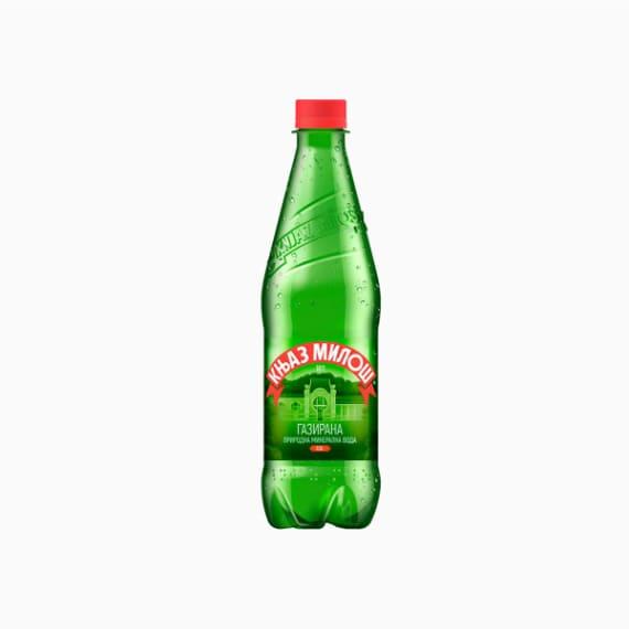 knjaz milos mineralnaja voda s gazom 0 5 l