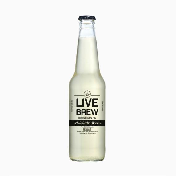 kombucha live brew big gaba boom 350ml