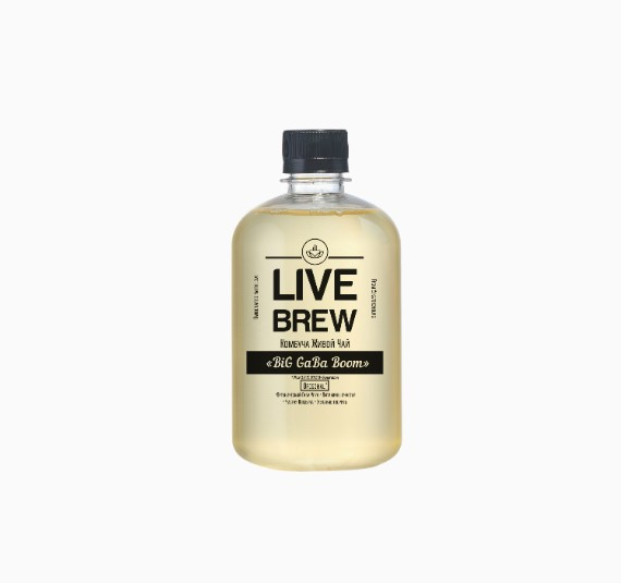 kombucha live brew big gaba boom 520ml