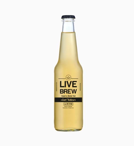 kombucha live brew earl yellow 350ml
