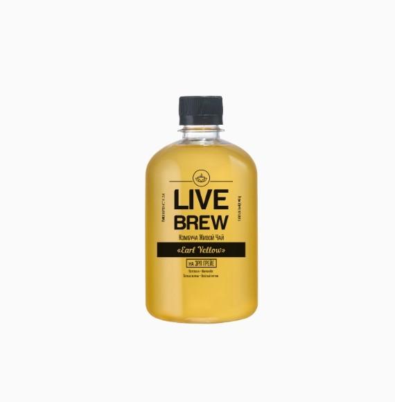kombucha live brew earl yellow 520ml