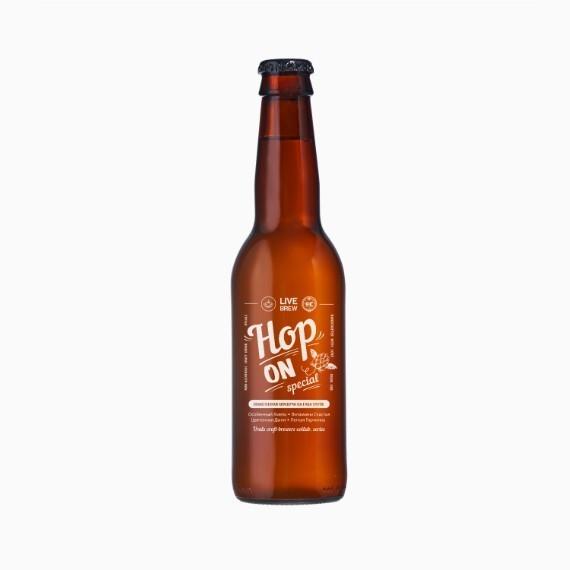 kombucha live brew hop on 350ml