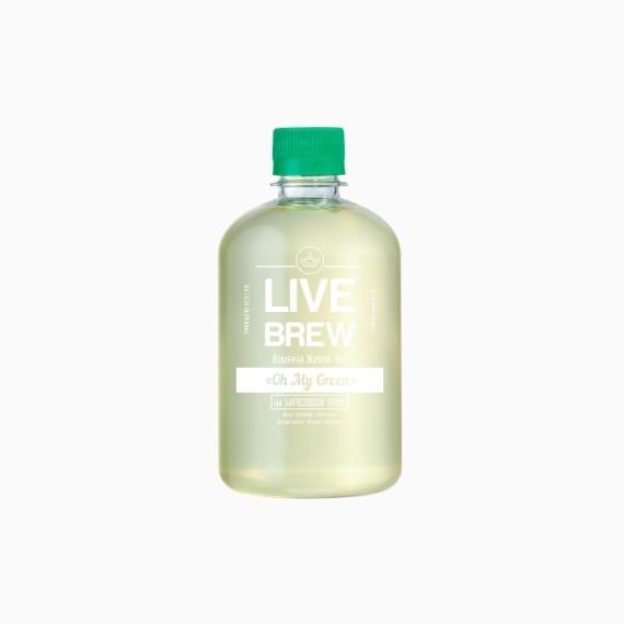 kombucha live brew oh my green 520 ml