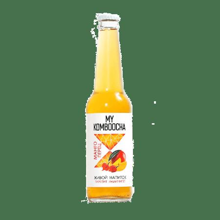 kombucha my komboocha mango perec 330 ml