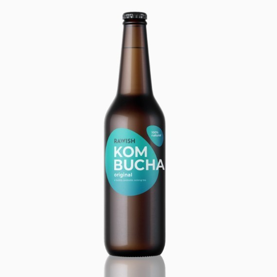 kombucha rawish original 330 ml