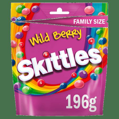 konfety skittles wild berry giants 196 g