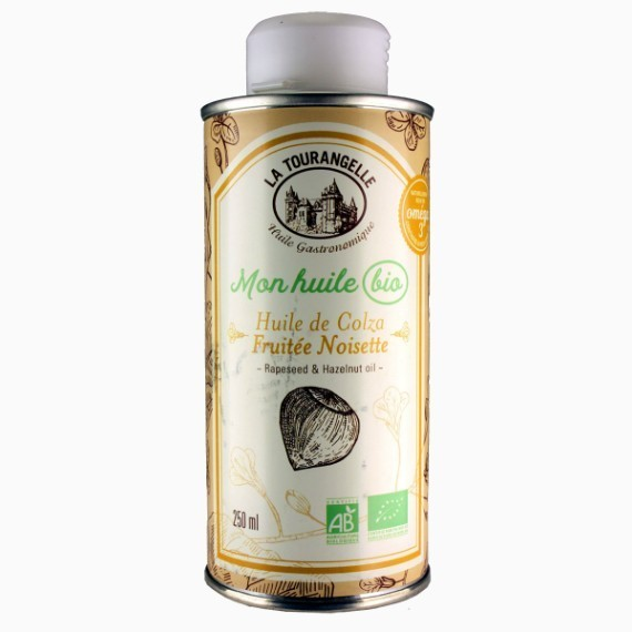 la tourangelle rapeseed and hazelnut oil rapsovoe maslo s organicheskim funduchnym maslom 250 ml