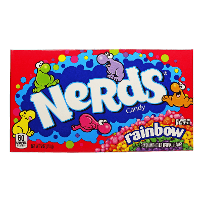 ledenczy wonka nerds rainbow 141 g