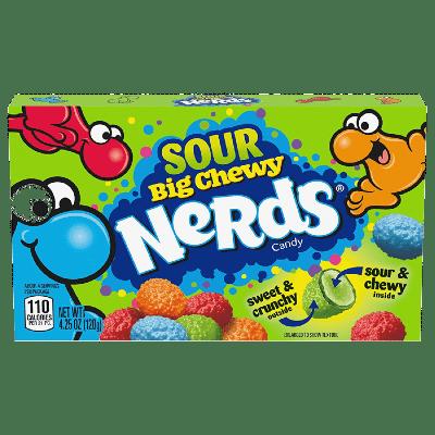 ledenczy wonka nerds sour big chewy candy 120 g