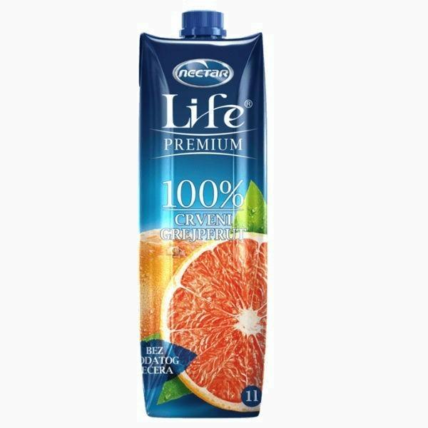 life sok grejpfruta 1 0 l